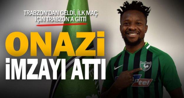 Yukatel Denizlispor, Nijeryalı oyuncu Onazi'yi transfer etti