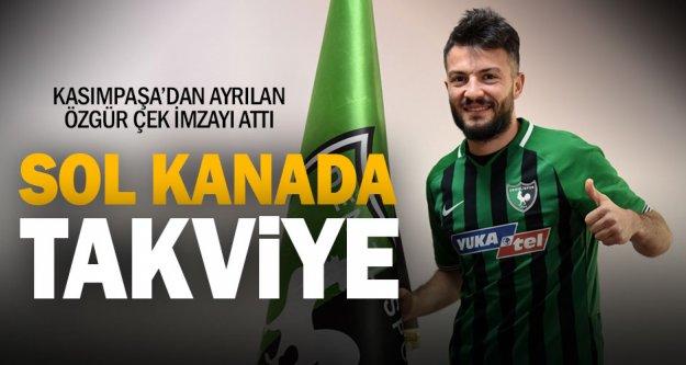 Yukatel Denizlispor, Özgür Çek'i transfer etti