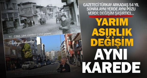 Çatelçeşme'den Çınar'a bakışın 54 yıllık değişimi