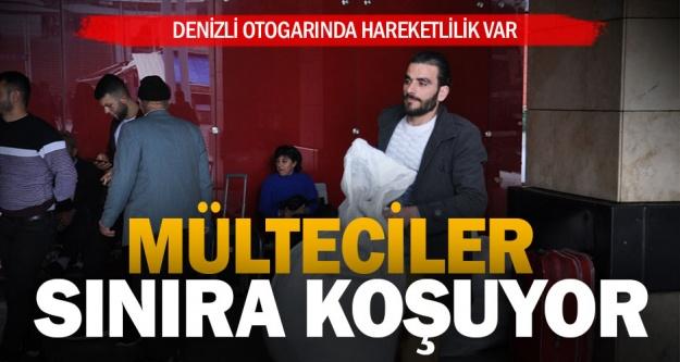 Denizli'den Edirne'ye mülteci hareketliliği