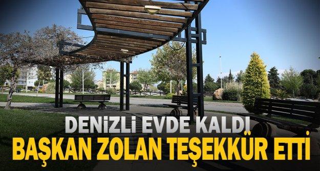 """Başkan Osman Zolan: 'Teşekkürler Denizlim"""""""