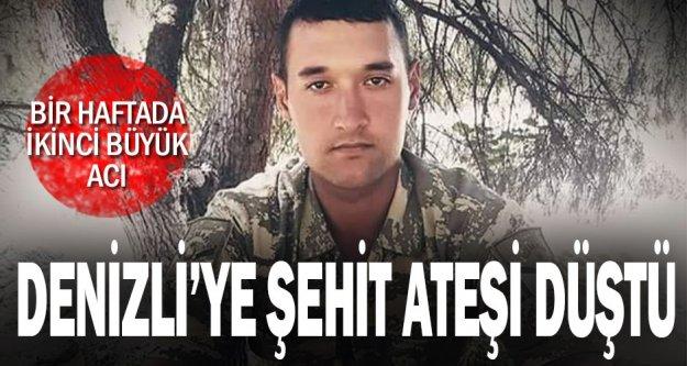 Denizlili Uzman Onbaşı Armağan Akman, İdlib'de şehit düştü.