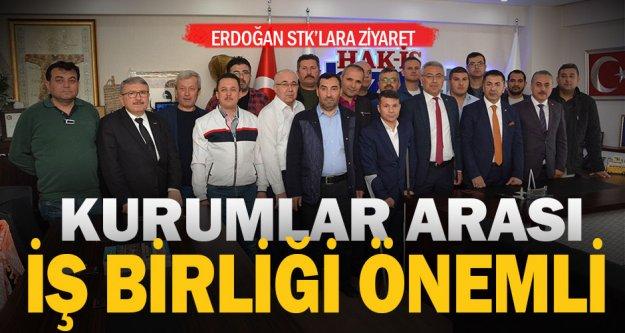 Erdoğan STK'ları ziyaret etti