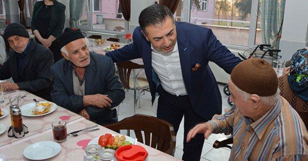 Erdoğan'dan huzurevi ziyareti