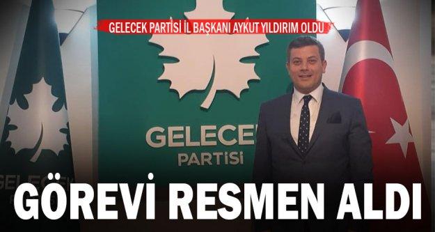 Eski Başbakan Davutoğlu'nun kurduğu Gelecek Partisi'nin Denizli İl Başkanı Aykut Yıldırım oldu