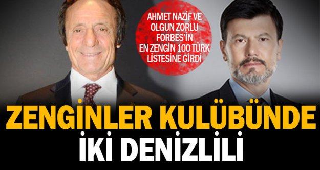 Forbes'in 'En Zengin 100 Türk' listesine Denizli'den iki isim girdi