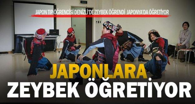 Japon Taito'dan Denizli'ye zeybek sürprizi