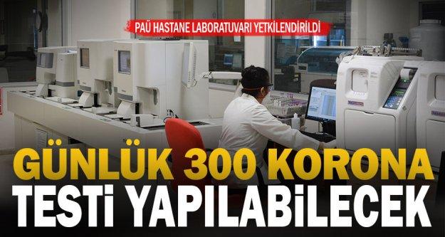 PAÜ Hastaneleri Koronavirüs testi yapmaya başladı