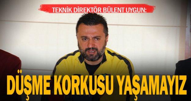 """Teknik Direktör Bülent Uygun: 'Hedefimiz ligi ilk 10'da bitirmek"""""""