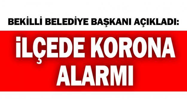 Bekilli Belediye Başkanı Mustafa Çoban, Bekilli'de koronavirüs vakasının olduğunu açıkladı