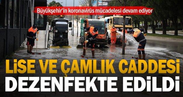 Büyükşehir'in koronavirüs mücadelesi devam ediyor