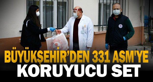 Büyükşehir'den 331 ASM'ye koruyucu set
