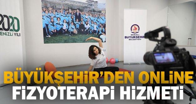 Büyükşehir'den online fizyoterapi hizmeti