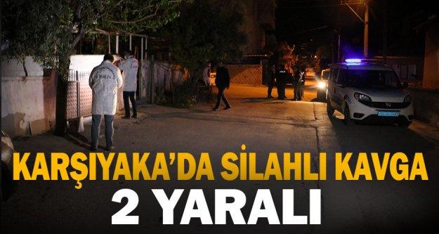 Denizli'de silahlı kavgada 2 kişi yaralandı