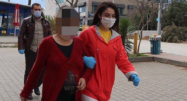 Denizli'de telefon yoluyla dolandırıcılık iddiasıyla biri hamile iki kişi yakalandı