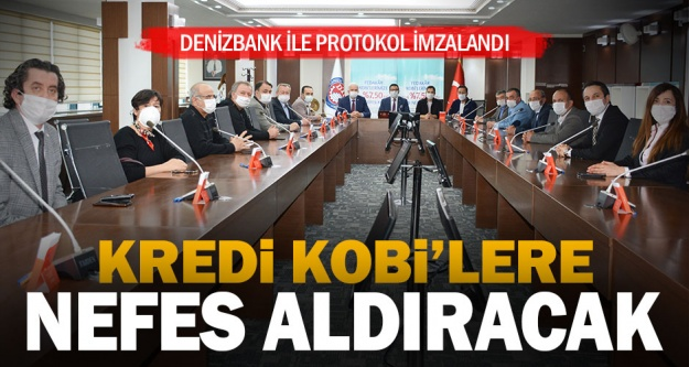 KOBİ'lere nefes kredisi protokül DTO'da imzalandı