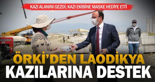 Örki'den Laodikya kazılarına destek