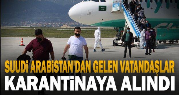 Suudi Arabistan'dan Getirilen 171 Türk Vatandaşı Denizli'de Karantinaya Alındı