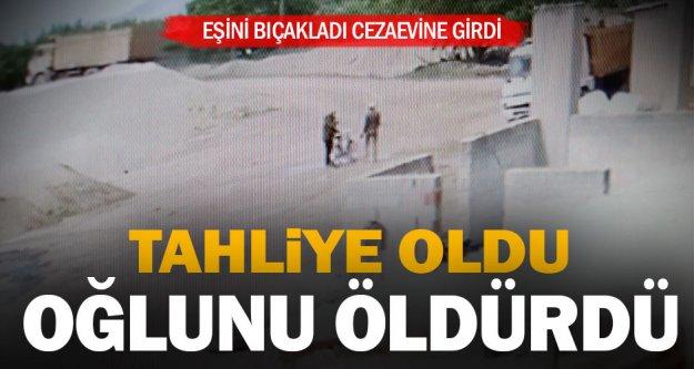 Denizli'de eşini bıçaklayan kişi cezaevinden çıktıktan sonra oğlunu öldürdü