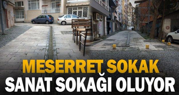Meserret Sokak Yenileniyor