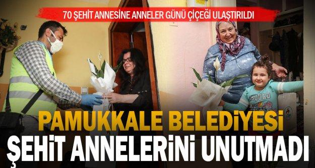 Pamukkale Belediyesi'nden Anneler Günü'nde vefa örneği