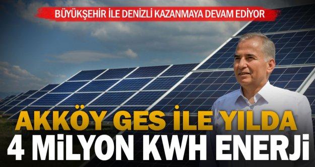 Büyükşehir'in güneş tarlaları 2MW güce ulaştı