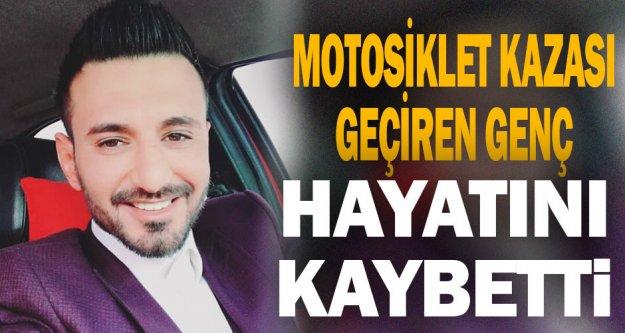 Denizli'de devrilen motosikletin sürücüsü öldü