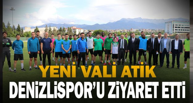 DenizliValisi Ali Fuat Atik, YukatelDenizlispor'u ziyaret etti