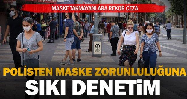 Maske takmayan 753 kişiye 295 bin 176 lira ceza