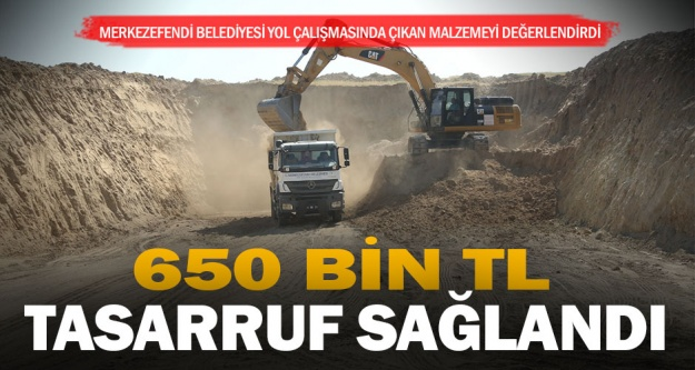 Merkezefendi Belediyesi 650 bin lira tasarruf etti