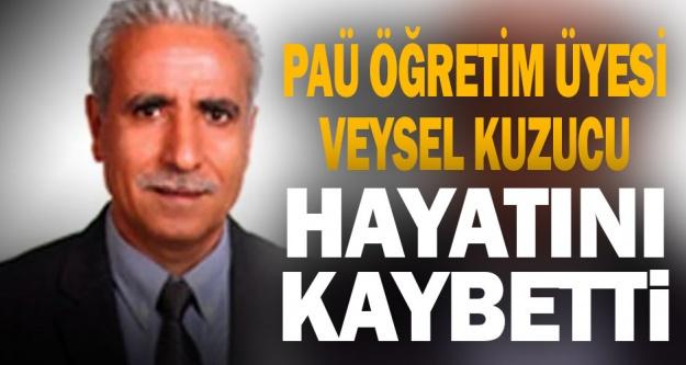 PAÜ Öğretim Üyesi Prof. Dr. Veysel Kuzucu vefat etti