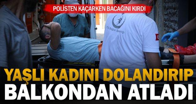 Yaşlı kadını 800 bin lira dolandıran şüpheli Denizli'de yakalandı