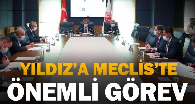 AK Parti Denizli Milletvekili Ahmet Yıldız'a Meclis'te önemli görev