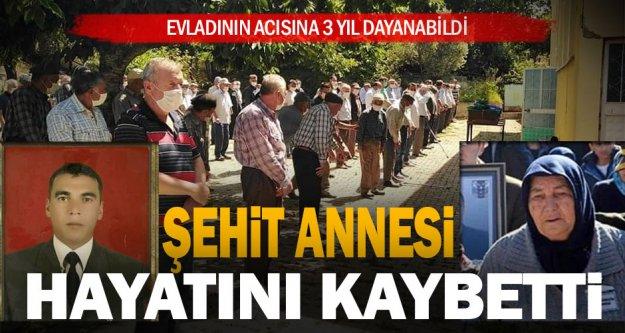 Denizlili şehit Emin Güngör'ün annesi hayatını kaybetti