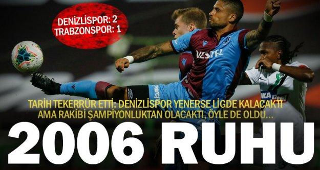 Denizlispor ligde kalmayı garantiledi –gibi- Trabzon şampiyonluk fırsatını tepti