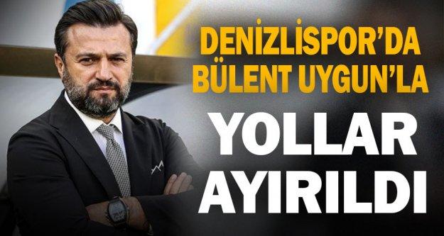 Denizlispor'da Bülent Uygun'la yollar ayrıldı