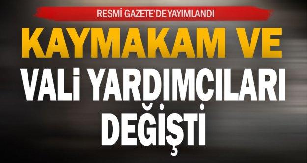 Resmi Gazete'de yayımlandı, Denizli'de 6 ilçenin kaymakamı değişti