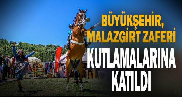 Büyükşehir, Malazgirt Zaferi kutlamalarına katıldı