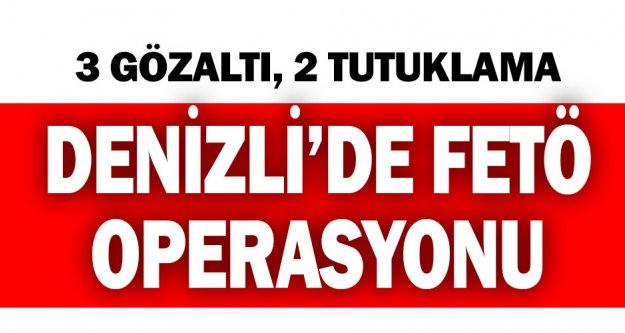 Denizli'de FETÖ operasyonunda yakalanan 2 kişi tutuklandı