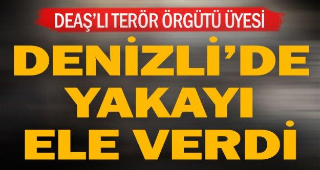 Denizli'de terör örgütü DEAŞ üyesi tutuklandı
