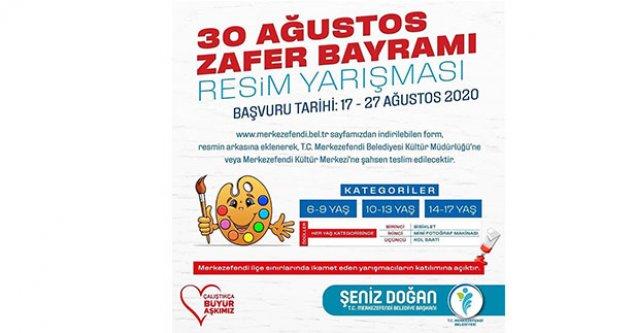 Merkezefendi Belediyesi 30 Ağustos Zafer Bayramı Resim Yarışması Düzenliyor
