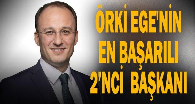 Örki Ege'nin en başarılı 2'nci başkanı