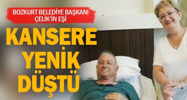 Bozkurt Belediye Başkanı Çelik'in eşi yaşamını yitirdi