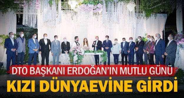 Dto Başkanı Erdoğan, Kızı Sahra'yı Evlendirdi