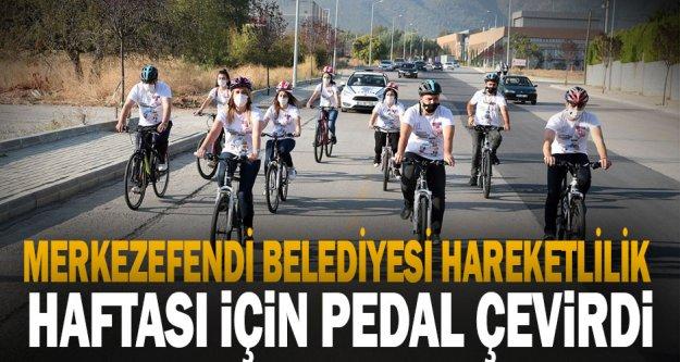 Merkezefendi Belediyesi Avrupa Hareketlilik Haftası İçin Pedal Çevirdi