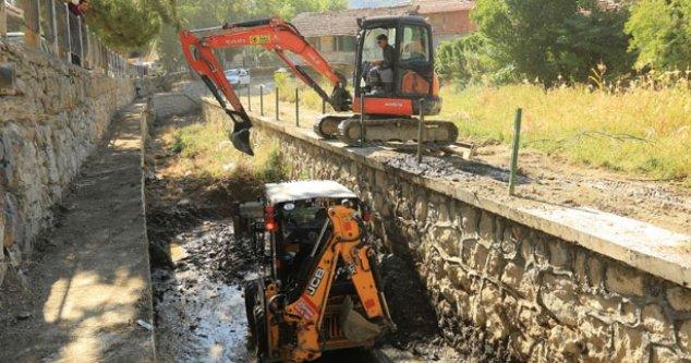 Büyükşehir DESKİ'den sel baskın önlemleri