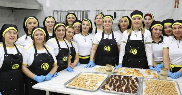 Merkezefendili kadınlara Ticaret Bakanlığı'ndan destek