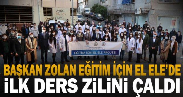 Başkan Zolan Eğitim İçin El Ele'de ilk ders zilini çaldı
