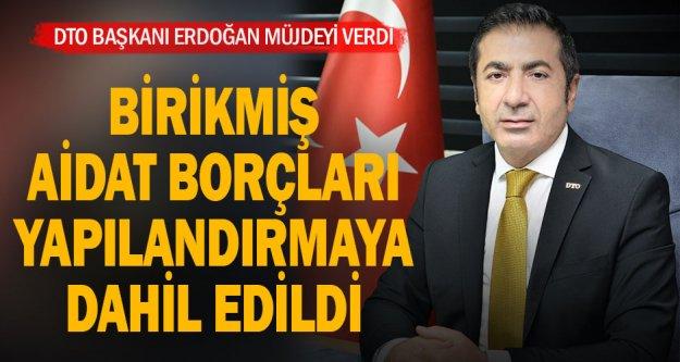 DTO Başkanı Erdoğan, girişimlerini sonuçlandırdı