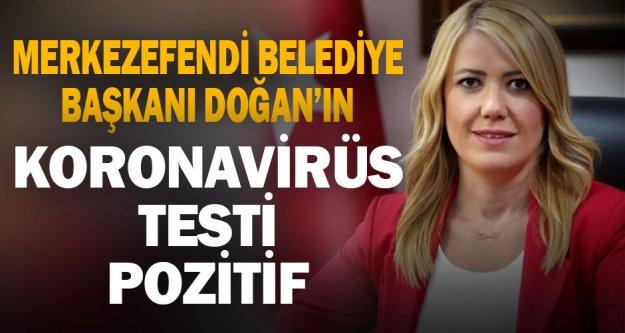 Merkezefendi Belediye Başkanı Doğan'ın Kovid-19 testi pozitif çıktı